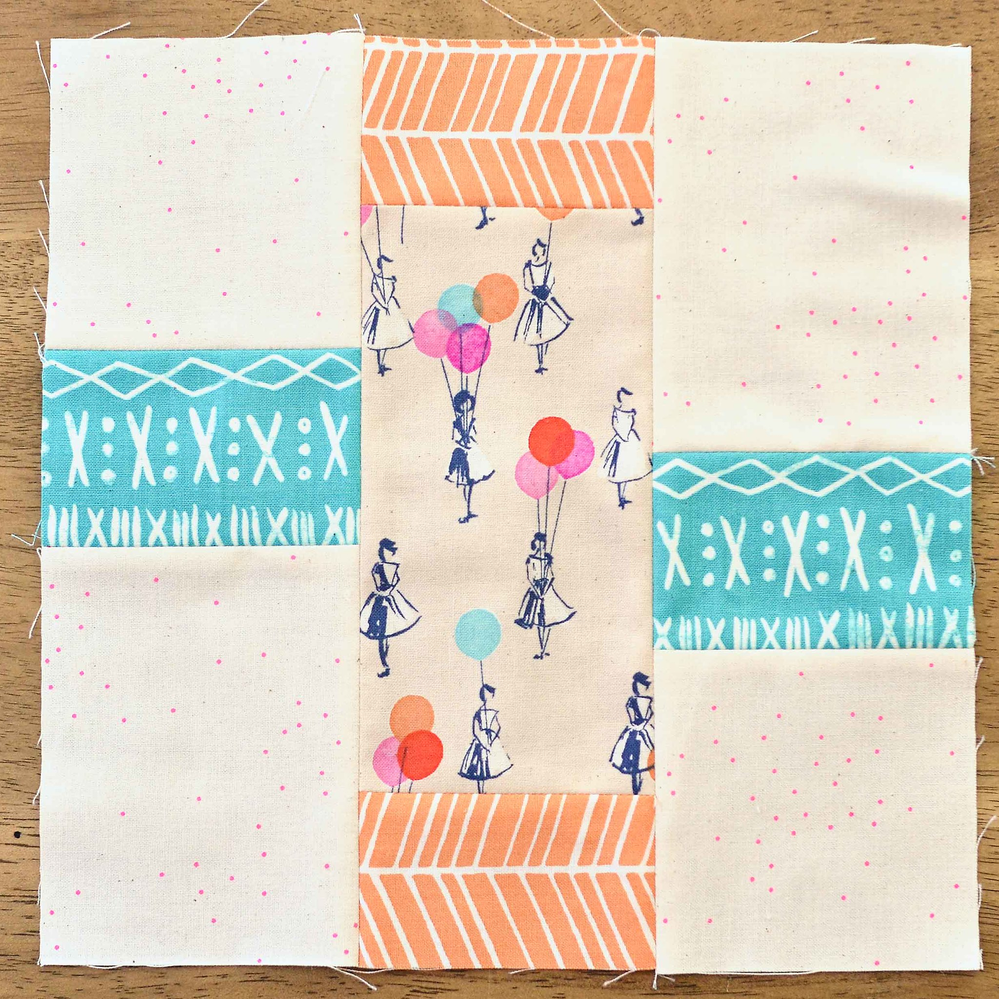 The Fussy Cut Sampler QAL Block 20