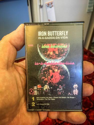 Iron Butterfly Cassette