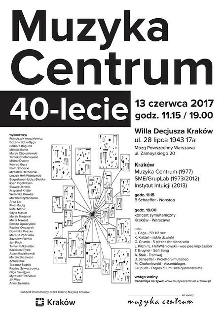 Muzyka Centrum 40-lecie