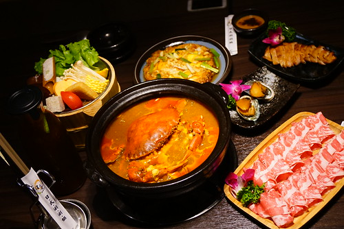 【美食】桃園中壢 -「和熹精緻鍋物」日式烤炸物、現撈活海鮮