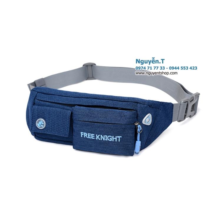 Túi bao tử đeo bụng Free Knight FK808 xanh navy