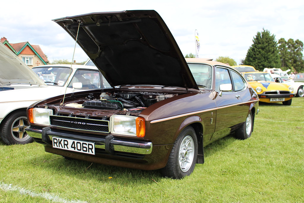 1977 ford capri mk2 3 0 ghia automatic cvpg luton festival flickr. Black Bedroom Furniture Sets. Home Design Ideas