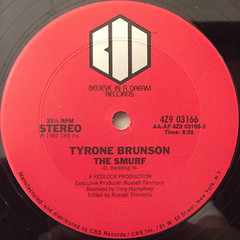 TYRONE BRUNSON:THE SMURF(LABEL SIDE-A)