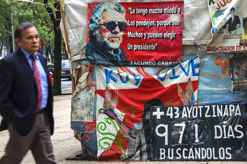 Le tengo mucho miedo a los pendejos--Mexico City