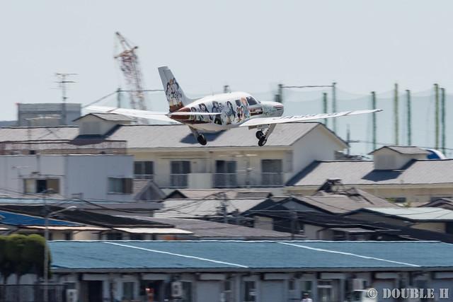 痛飛行機 - Anime wrapping airplane in RJOY 2017.6.4 (44)