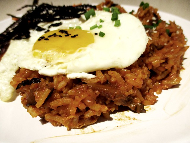 Daksemari kim chi fried rice