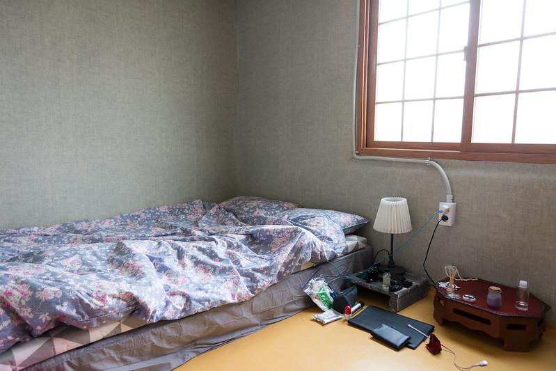 단독실 내부 침대 방향