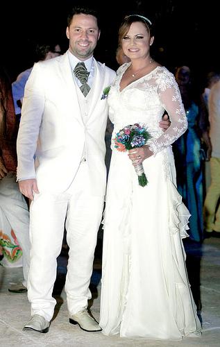 Carolina Sabino y Daniel Cabrales
