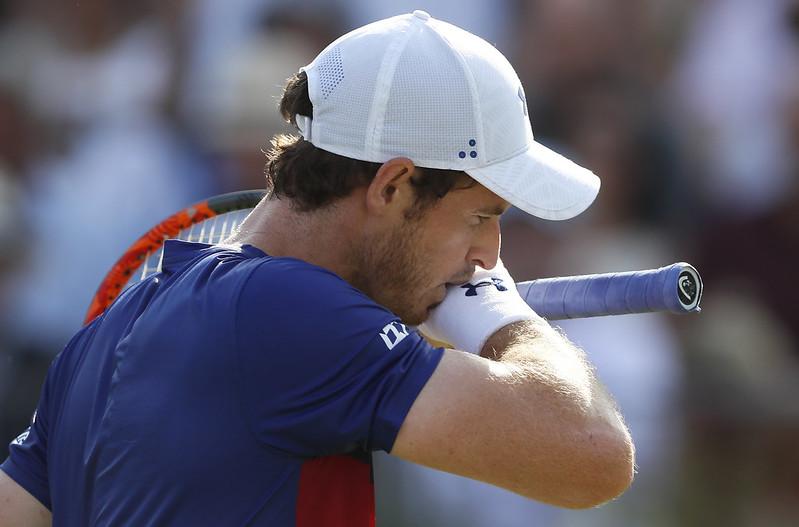 Andy Murray並不滿意自己場上時好時壞的狀態。(達志影像資料照)
