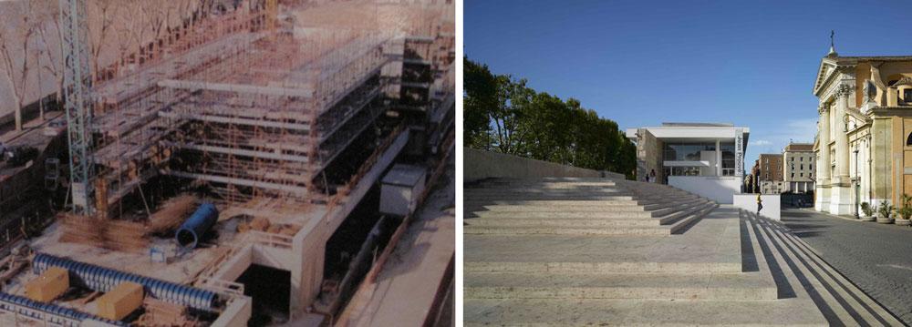 ara pacis_lara comera_realidad virtual_realidad aumentada_patrimonio_3d_urbanismo_edificio_Meier_arquitecto