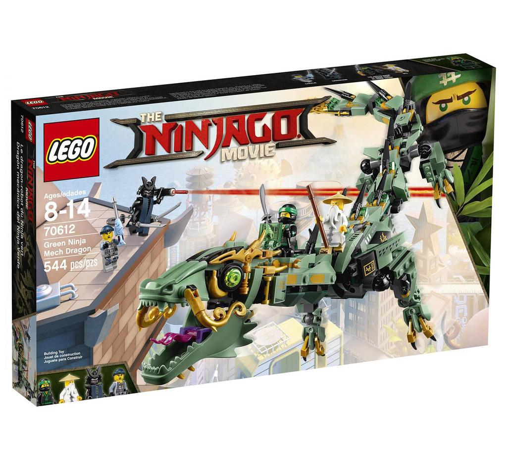 The LEGO Ninjago Movie 70612 - Green Ninja Mech Dragon