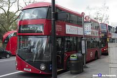 Wrightbus NRM NBFL - LTZ 1142 - LT142 - Shepherd's Bush 148 - RATP London United - London 2017 - Steven Gray - IMG_9165