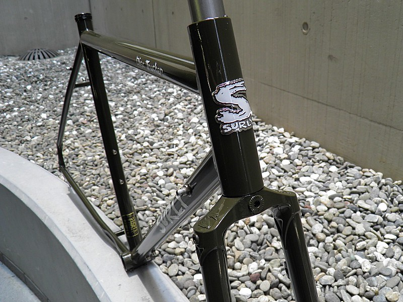 SURLY DISC TRUCKER FRAME FORK BROWN PAINTED 05