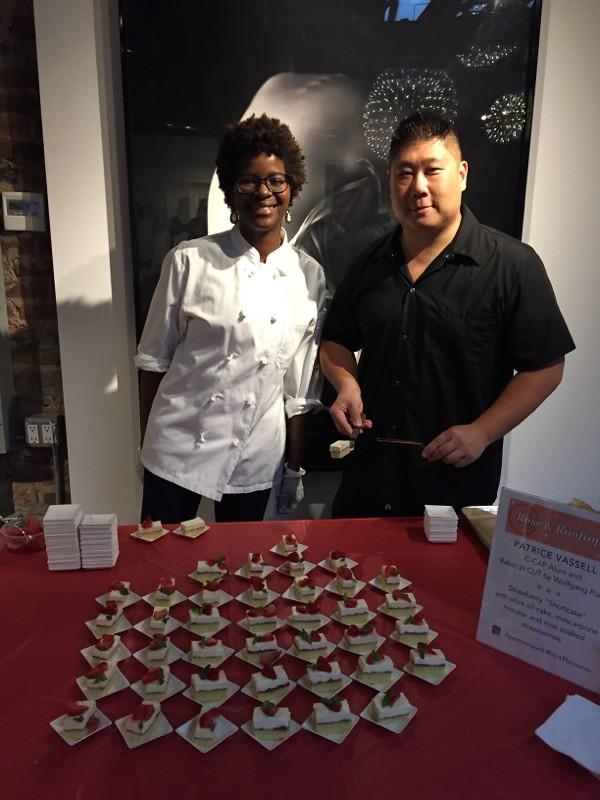 Patrice Vassell and Stephen Yen