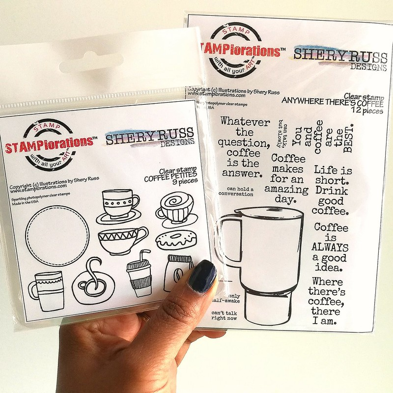 Coffee lovers must have stamp sets from STAMPlorations