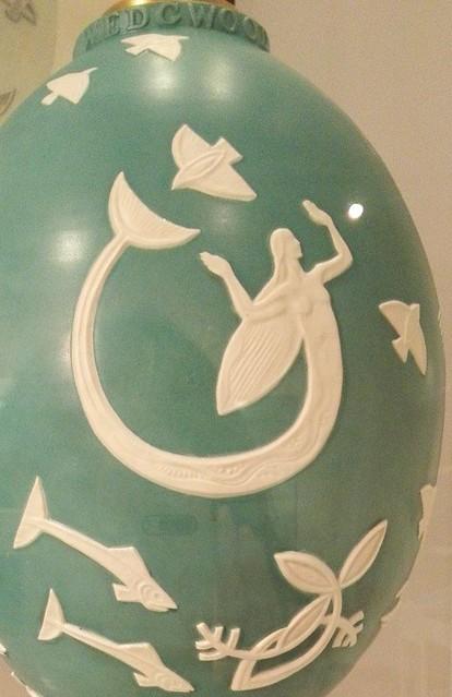 人魚姫ジャスパー ウェッジウッドミュージアム
