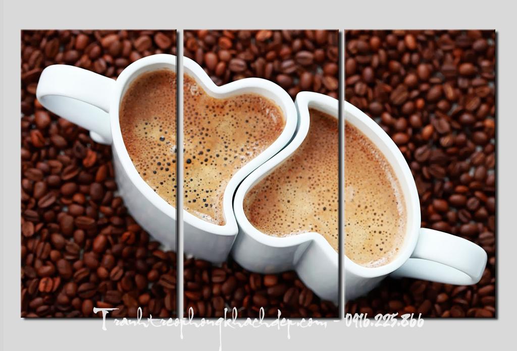 Mau tranh dep tach cafe tinh yeu AmiA 644