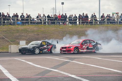 Enver Haskasap - Matt Stevenson, Drift GP vs. British Drift Championship, Birmingham 2017
