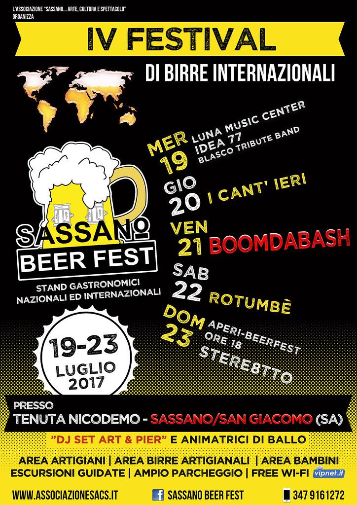 Sassano Beer Fest 2017