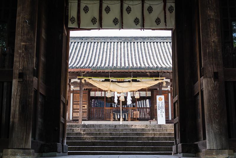 倉敷・阿智神社