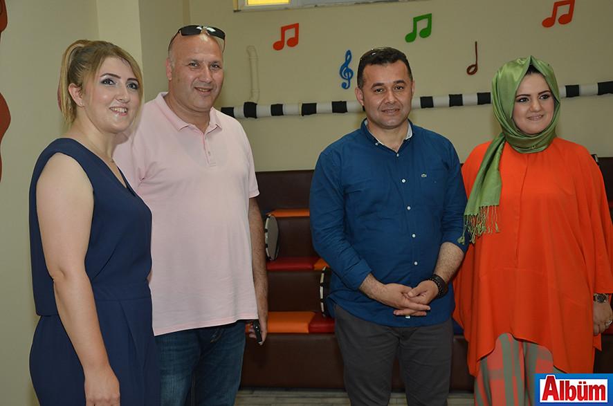 Dilek Okşar, Ahmet Çelik, Adem Murat Yücel, Nuray Okşar