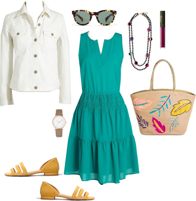 What I Wish I Wore, Vol. 189 - Pops of Color | Style On Target blog