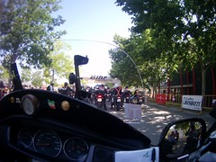 La partenza della Rider 500