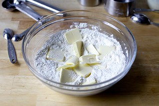 butter into dry stuff
