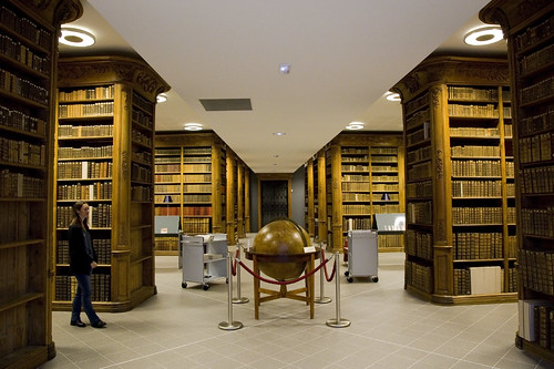 Epinal Library Rare Books Room