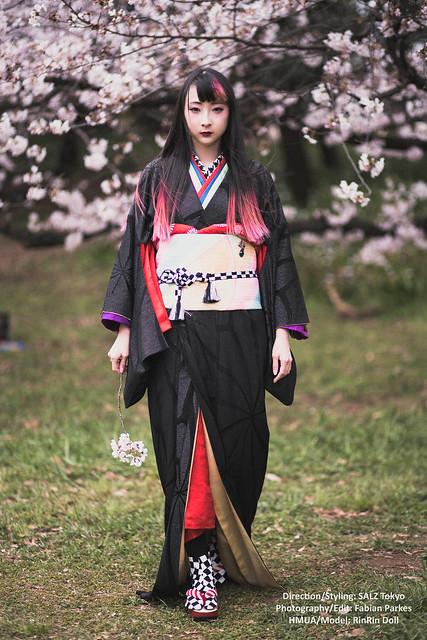 RinRin x SALZ kimono heian 2