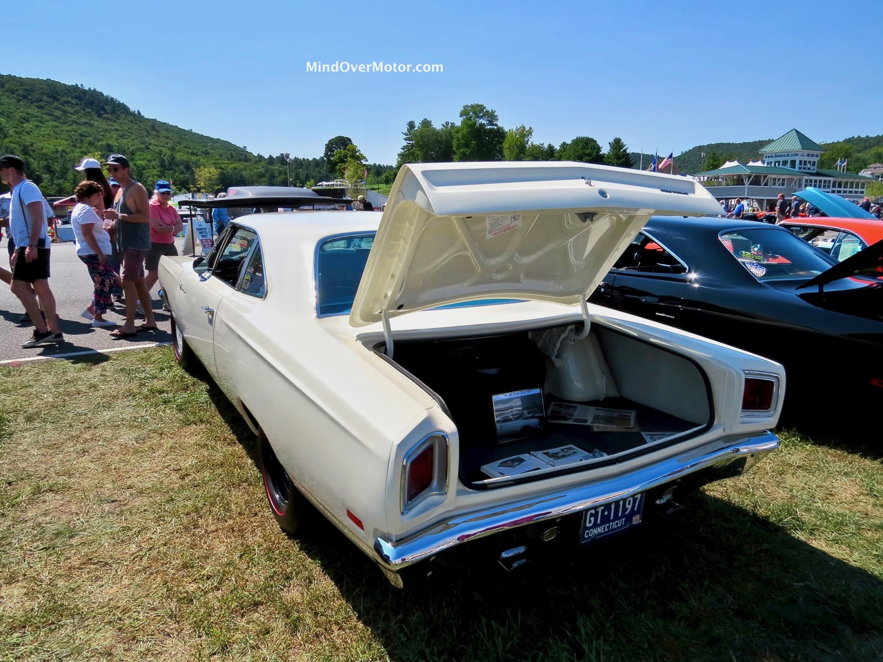 1969 M Code 4 Speed Road Runner Rear
