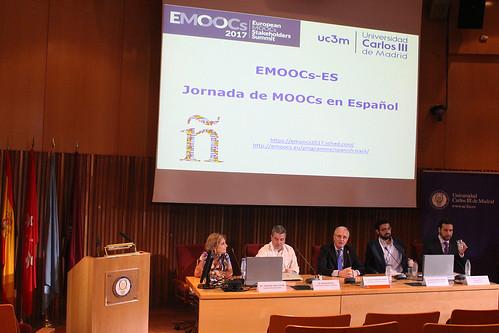 Sesión plenario eMOOCs2017 Track en español
