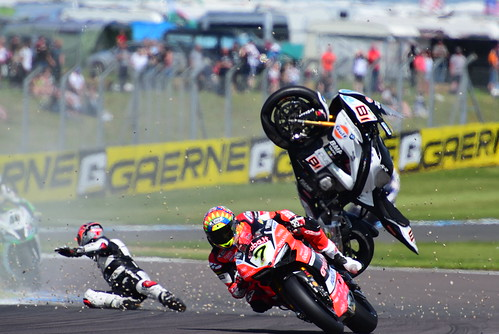 Chaz Davies, Ducati Panigale R, World Superbike Championship, Donington Park 2017