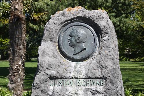 Gedenkstein Gustav Schwab