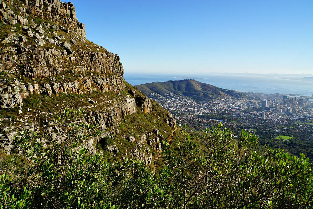 Stunning Views on the way to the Top of Table Mountain