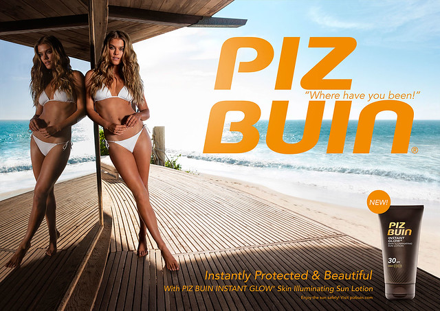 PIZ BUIN® Instant Glow Lotion  visual