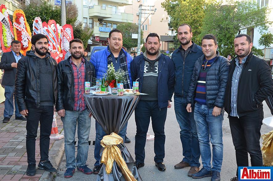 Uğur Coşkun, Ercan Coşkun, Kadir Kasapoğlu, Mustafa Sarı, Faruk Uyar, Uğur Ali Ünlü, Murat Can