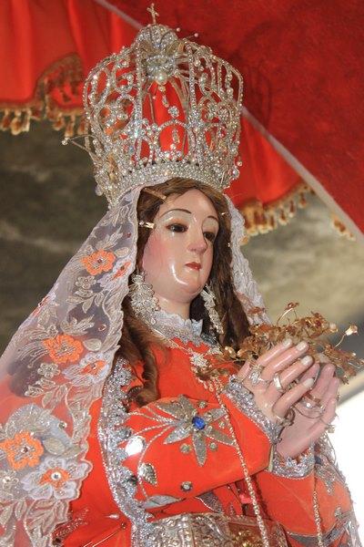 Otuzco: Clausurará el mes mariano con procesión de la Virgen de la Puerta