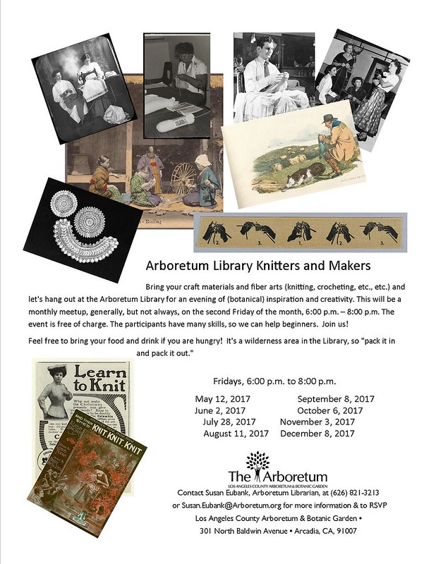 Arboretum Library Knitters and Makers