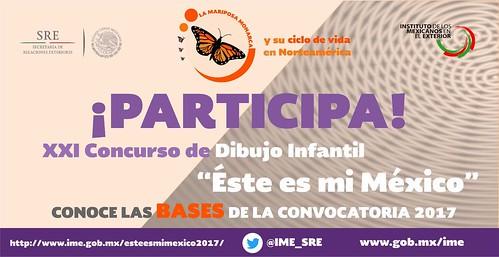 Concurso de dibujo infantil este es mi México 2017