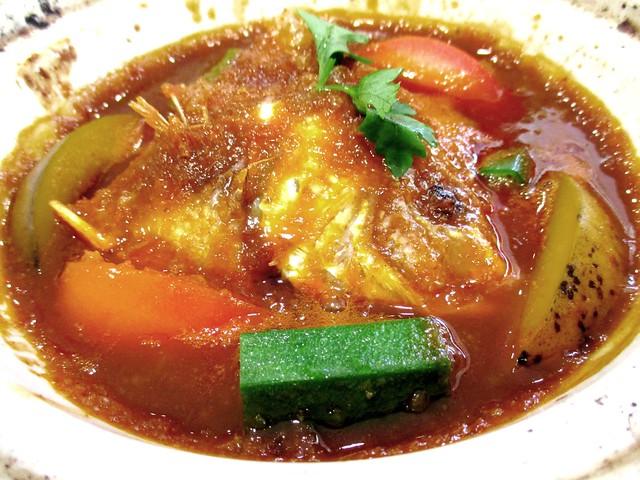 Sugar Bun Sg Merah claypot assam fish