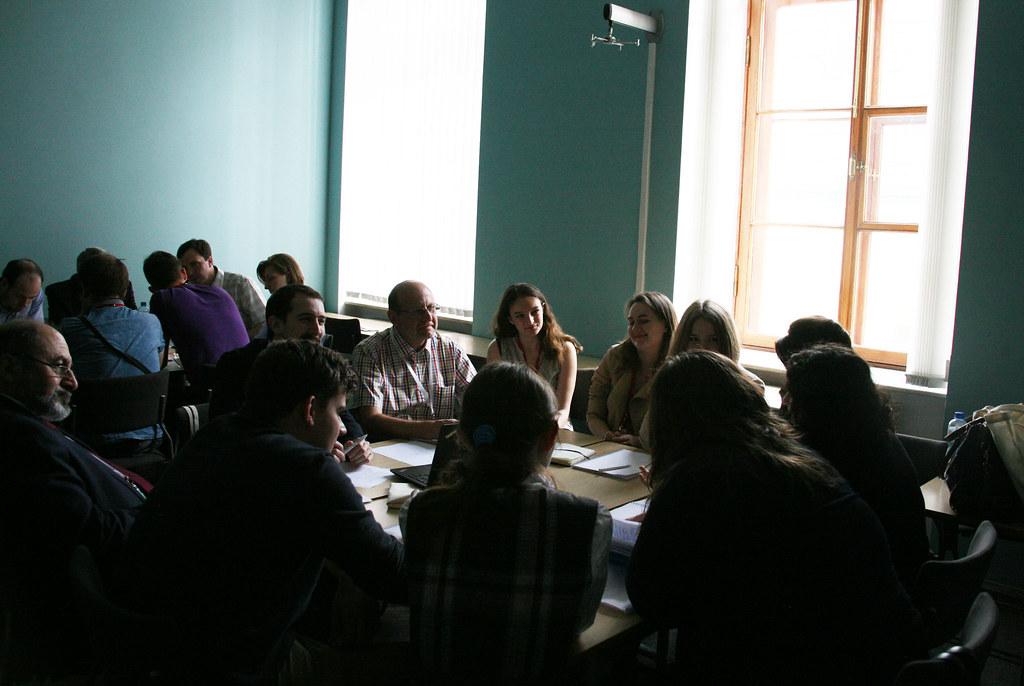 В Институте «Высшая школа менеджмента» СПбГУ состоялась научная школа для молодых учёных «Инновации в практиках управления знаниями»