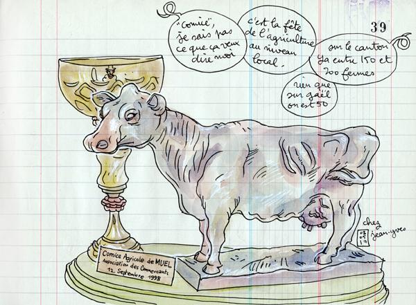 champion du monde de vache