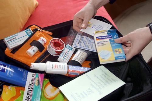 Міні-аптечка в дорогу