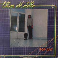 ELTON MOTELLO:POP ART(JACKET A)