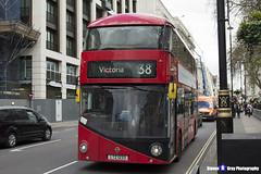 Wrightbus NRM NBFL - LTZ 1233 - LT233 - Victoria 38 - Arriva - London 2017 - Steven Gray - IMG_9126