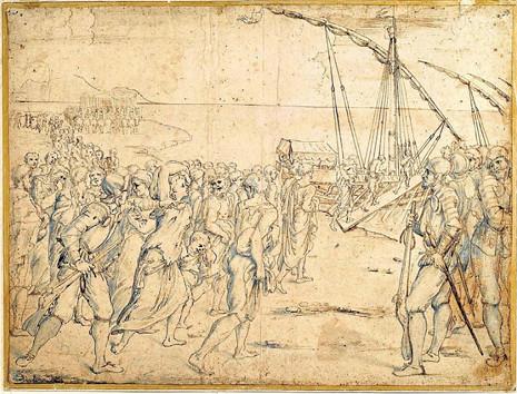 17f15 La expulsión de los moriscos de Vicente Carducho Uti 465