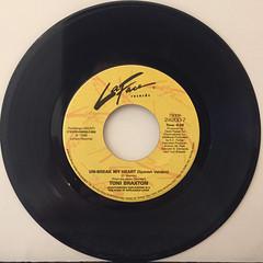 TONI BRAXTON:UN-BREAK MY HEART(RECORD SIDE-B)