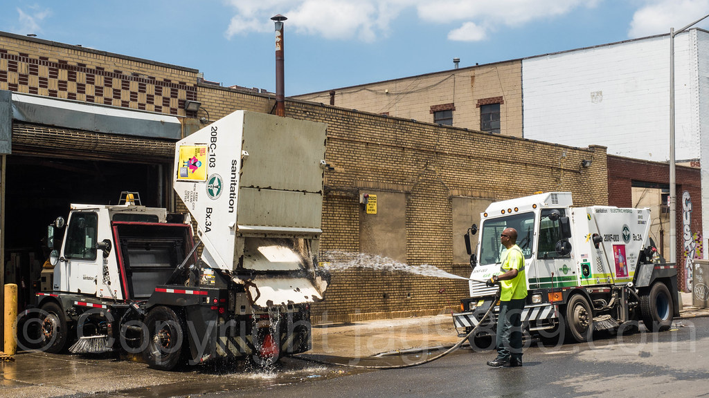Sanitation Street Sweeper Trucks West Bronx New York Cit Flickr - Nyc street sweeping map