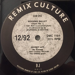 V.A.:DMC(12:92)(LABEL SIDE-A)